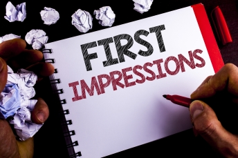 Writing out top tips to make a good first impression