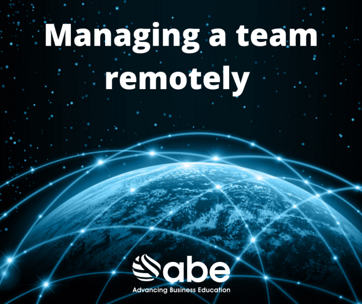 Managing a team remotely