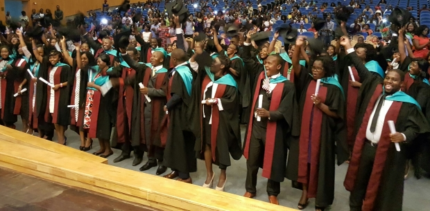 Malawi graduation ceremony